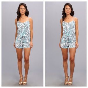 lilly pulitzer deanna romper XS NWT