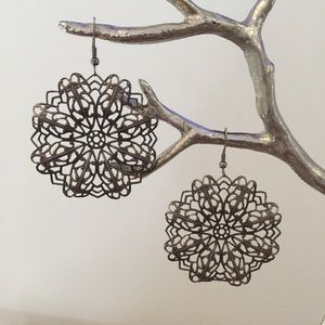 Bohemian lace earrings