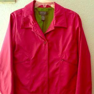 Hot pink jacket sz m