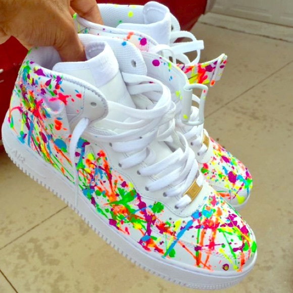 Nike Shoes Custom Painted Air Force 1s Poshmark