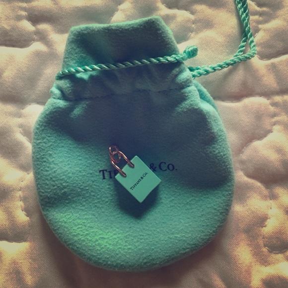 58700f36f Tiffany & Co. Jewelry | Tiffany And Co Shopping Bag Charm | Poshmark