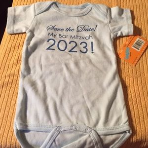 Sara Kety Other - Sara Kety Onesie save the date Bar Mitzvah 2023