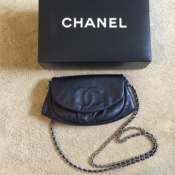 5989df6b606a CHANEL Handbags - Chanel half moon woc preowned. No dustbag/card