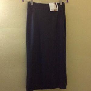 24dce12bc7 Naked Wardrobe Skirts - black latex bralette and pencil skirt