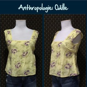 Anthro Pintuck Top by Odille