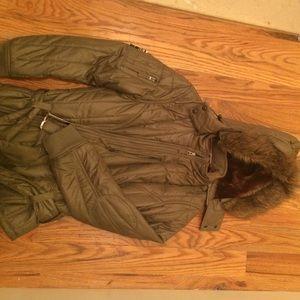 Jackets & Blazers - Triple five soul army green jacket