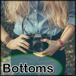 Pants - Bottoms..You bet yer bottom, a variety of sizes.
