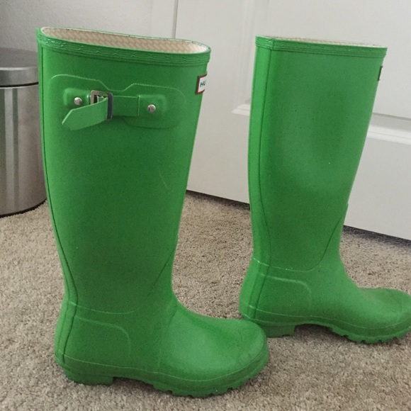 55% off Hunter Boots Shoes - Hunter Rain boots lime from Katie's ...