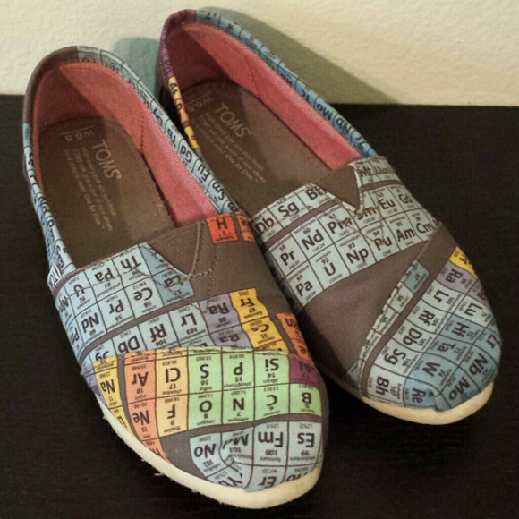 Toms Shoes Periodic Table Vegan Poshmark