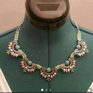 Bohemian bobo hippie silver necklace