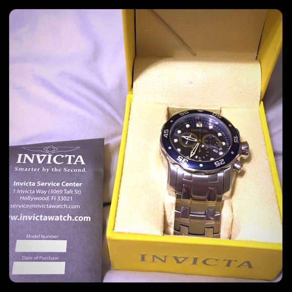 89cd360f4 Invicta Accessories | Mens Pro Diving Watch | Poshmark
