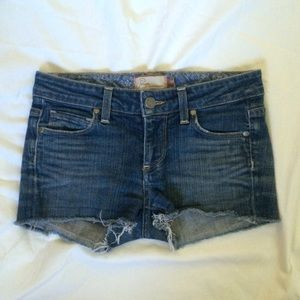 Paige Premium Denim Melrose Cutoff Shorts
