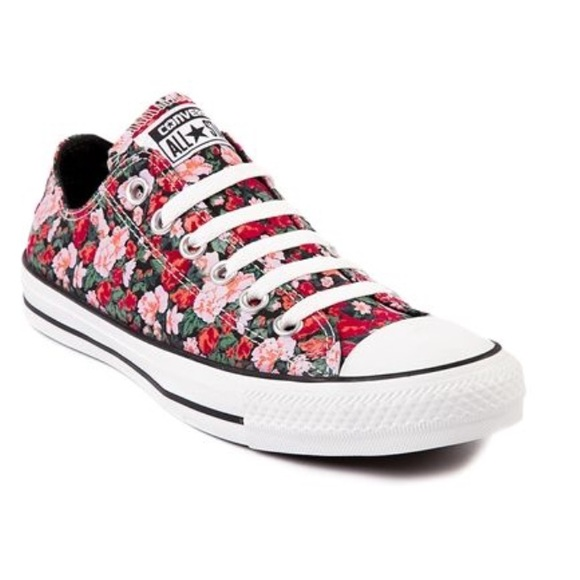 81d806802efd Converse Shoes - Converse All Star Flower Print Shoes