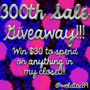 *CLOSED!* 300TH SALE GIVEAWAY!!!