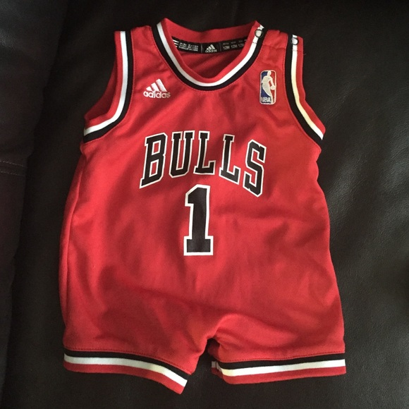 Adidas Other - Chicago Bulls jersey body suit 6edbf1e8d62b