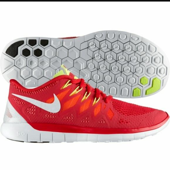 official photos 0c323 f598d Nike Free Run 5.0 Red Yellow and Orange Womens. M 55f42fa878b31c0871009c8b