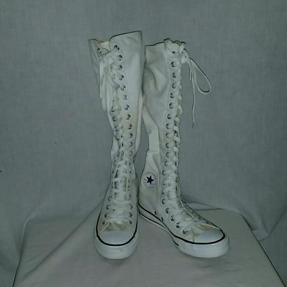 Converse Shoes   Long Leg High Top