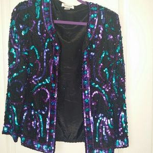 Jackets & Blazers - Vintage sequin jacket