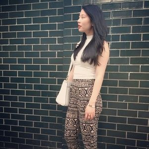 Tribal patterned pants