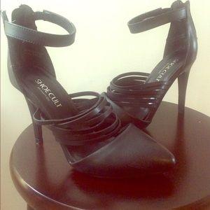 Black Nasty Gal heels