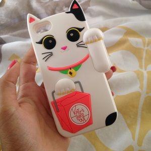 iPhone 5c kitty case