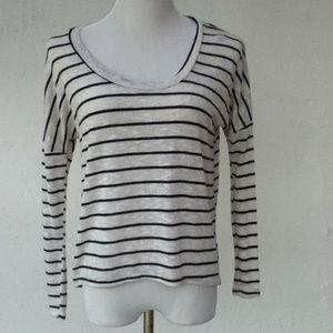 Sparkle & Fade Stripe top