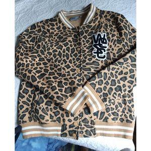WEZC leopard jacket