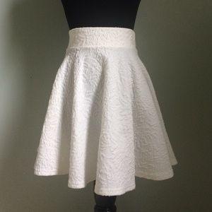 Pins & Needles Dresses & Skirts - UO Textured White Skirt