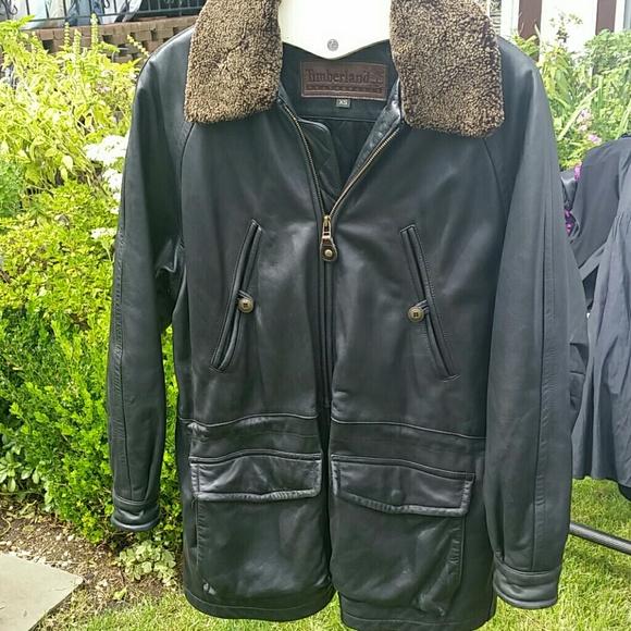 6933fc1b2a0 Timberland Jackets & Coats | Leather Jacket | Poshmark