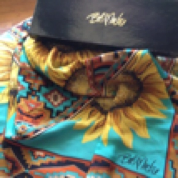 bob mackie bob mackie silk scarf from boutiquefinds s