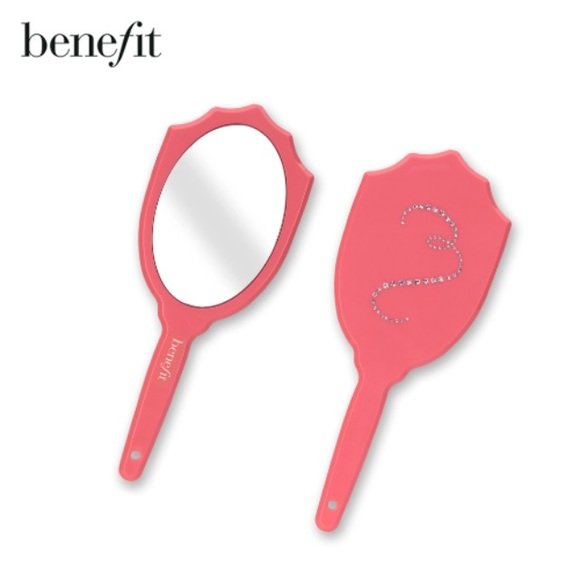 Benefit Accessories Pink Bling Mirror Used By Britney