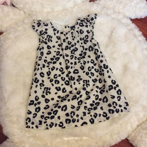 Gap Dresses Sold Baby Leopard Dress 1218m Poshmark