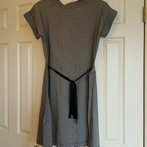 Generra Dresses - NWT Generra White and Dark Navy Striped Dress -M