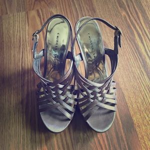 Chinese Laundry 7.5 Taupe Heels