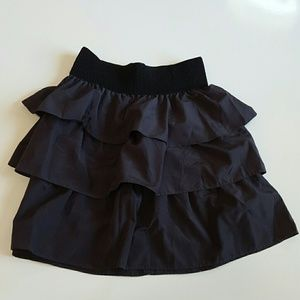 Rhapsody Dresses & Skirts - Three tiered layer skirt dark grey