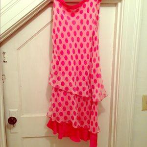 April Cornell Dresses & Skirts - April Cornell polka-dot flamenco skirt, 4-6. New!