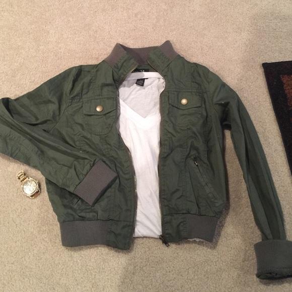 37% Off Rue21 Jackets U0026 Blazers - Army Green Rue 21 Jacket. Worn 1 Time. From Alexu0026#39;s Closet On ...