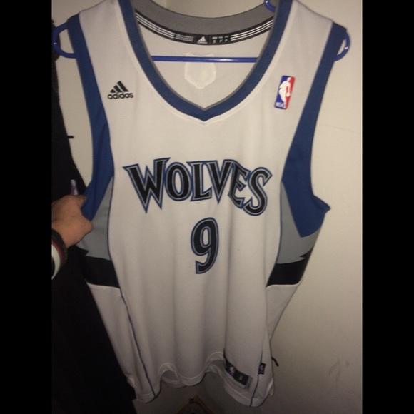sale retailer 249ed 61862 Ricky Rubio Timberwolves Jersey Authentic