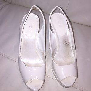 White heels