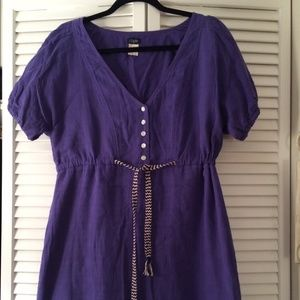 J. Crew Dresses & Skirts - Jcrew cotton drawstring dress size 8