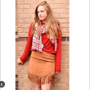Necessary Clothing Dresses & Skirts - ⬇️⬇️REDUCED⬇️⬇️ Necessary Clothing Fringe Mini