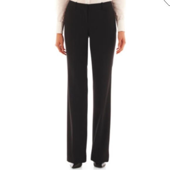 085d68f92cbde Jcpenney Worthington NWT black trouser pants