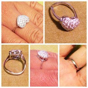 .925 Heart Ring