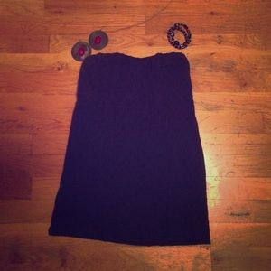 Navy Blue FREE PEOPLE Tube Top Size Small