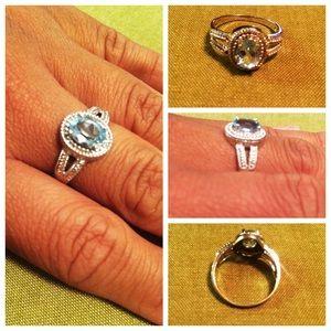 .925 Stone Ring