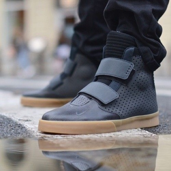 1822143324 Nike Shoes - Nike Flystepper 2K-3 Gum Light Brown Black