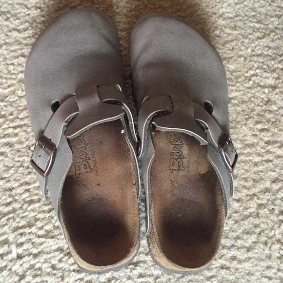 a39968d78cd60a Birkenstock Shoes - Birkenstock Boston oiled leather clogs - size 6