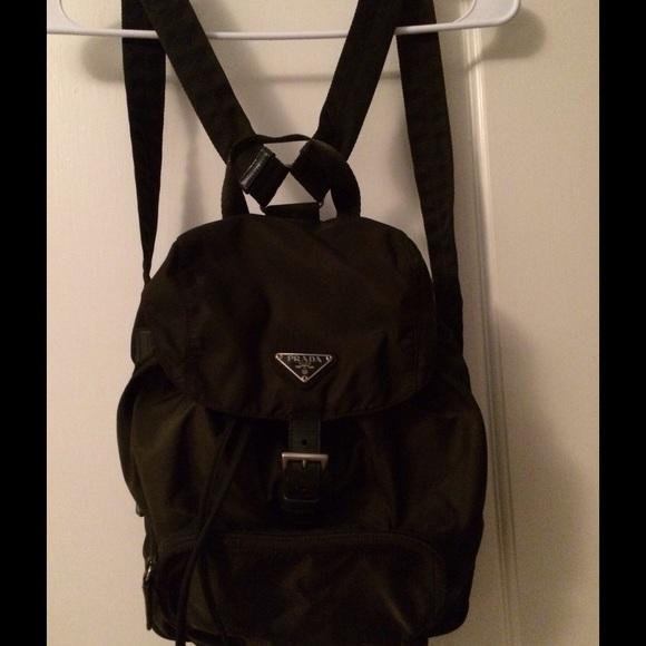 Prada Backpack Vintage