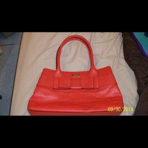 Kate Spade large orange purse