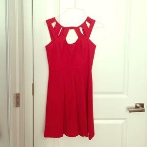 SALE Beautiful Betsey Johnson red dress